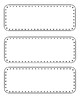 Word Wall Letters & word template