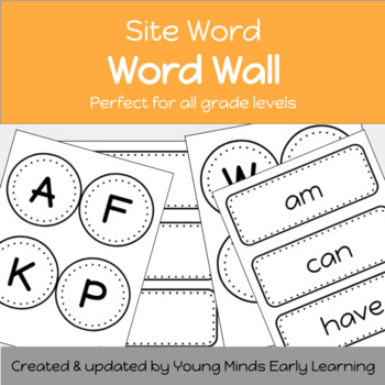 word wall letters word template by charlsie welshan tpt rh teacherspayteachers com word wall letters abc second grade word w
