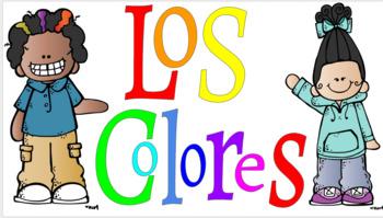 Word Wall: Los colores