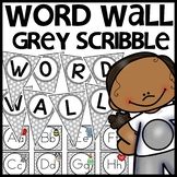 Word Wall MIX AND MATCH (GRAY Polka Dot Scribble)