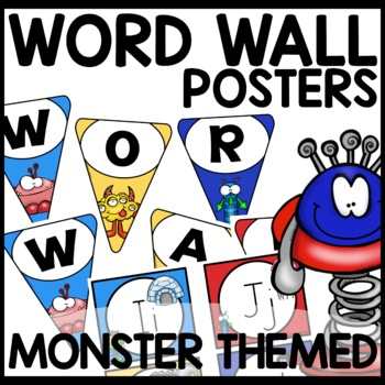 Word Wall | MONSTER THEMED