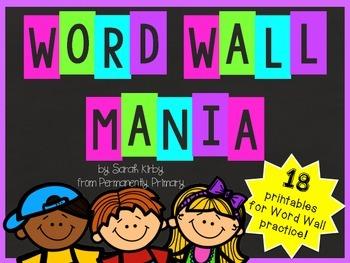 Word Wall Mania!