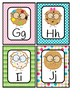 Word Wall Medium Alphabet Cards- Smart Cookies- Multicolored