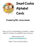 Word Wall Medium Alphabet Cards- Smart Cookies- Multicolored