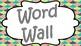 Word Wall - Mermaid Theme