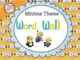 Word Wall and File-Copy-Grade desk  organizer Minions Theme