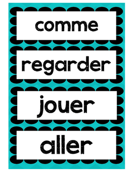 Word Wall- Mots frequents en Francais 1er cycle