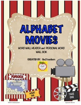 Word Wall:  Movies FREE