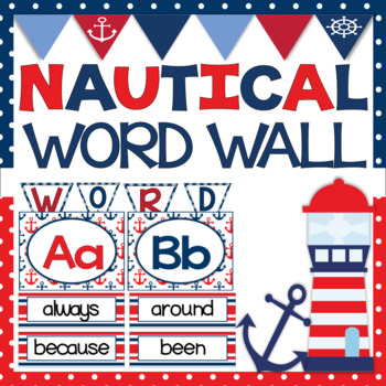 Word Wall - Nautical Theme