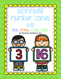 Word Wall Number Cards 0-20