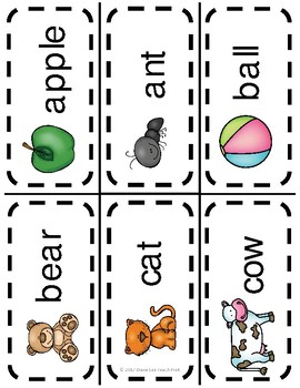 Word Wall Picture Cards