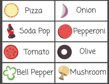 Word Wall Pizza