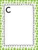 Word Wall Polka Dot cards