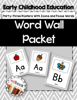 Word Wall Packet {Gray}