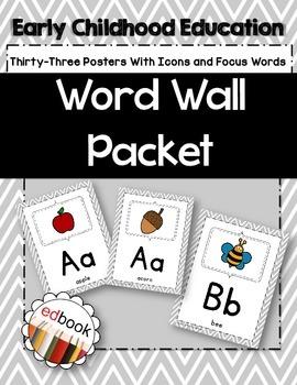 Word Wall Packet {Gray}