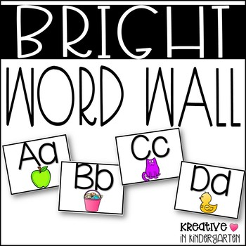 Bright Word Wall Posters