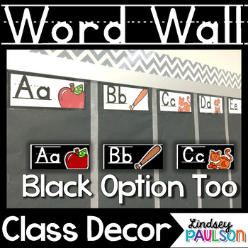 Word Wall Posters