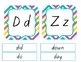 Word Wall Pre-K Kindergarten (Dolch and Fry Lists) Multi Brights Chevron