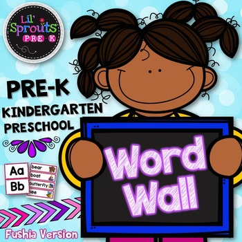 Word Wall - PreK, Kindergarten, Preschool, Pre-K