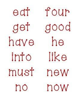 Word Wall Primer - Grade 2