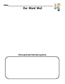 Word Wall Printable