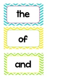 Sight Word Wall-Printable First 100 words