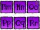 Word Wall - Purple & stars