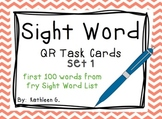 Sight Word QR Code Task Cards *Set 1*