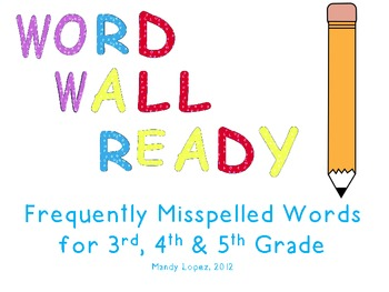 Word-Wall-Ready Words, Portable Folders, & Teacher Instructions