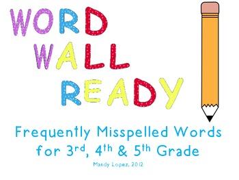 Word-Wall-Ready Words, Portable Folders, & Teacher Instructions