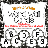 Word Wall Resource {Black and White Themed}