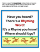 """""""Word Wall Rhymes!"""" -- Group Game & Folder Games for 20 Dolch Nouns"""