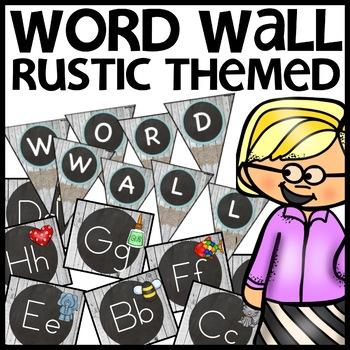 Word Wall (Rustic Themed)
