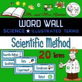 Word Wall - Scientific Method {Science, Biology, Chemistry}