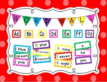 Word Wall Set {EDITABLE}