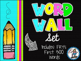 Word Wall Set {Bright Kidlettes}