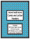 Word Wall Set- Funky Colour Diamond Edition