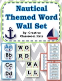 Word Wall Set Nautical Ocean Theme
