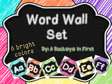 Word Wall Set - Scribble Brights