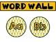 Word Wall Set-Up Editable - Pineapple Theme