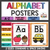Alphabet Posters Rainbow Scribble