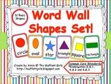 Word Wall Shape Set