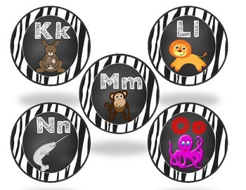 Word Wall Sight Word Cards with Alphabet Headers