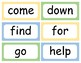 Word Wall Sight Words