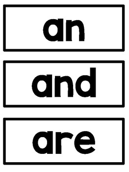 Word Wall Sight Words - First 100 Fry Words