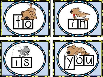 Word Wall Sight Words - I'll Teach My Dog 200 Words