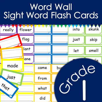 Word Wall -- Sight Words -- Spelling List