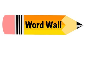 Word Wall Sign