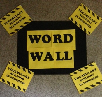 Word Wall Signs
