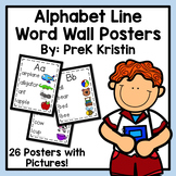 Alphabet Line Word Wall Posters